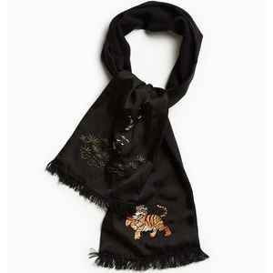 Urban Outfitters Tiger Scarf